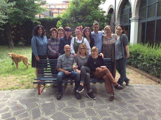 Barbara Calzolari and Tiziana Gironi, Dropcaps, MODO infoshop, Bologna, May 6–8, 2016
