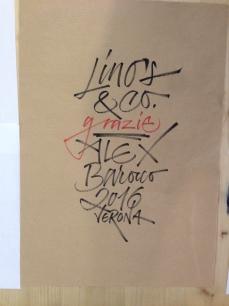 Alex Barocco's workshop on Experimental Brush Pen, Associazione Calligrafica Italiana, Verona, May 21–22, 2016 (photo: Miriam Jones).